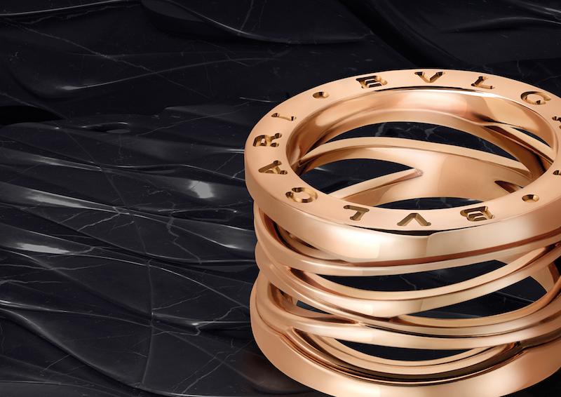 A Meeting of the Greats – Zaha Hadid gives Bulgari's B.zero 1 ring amakeover.