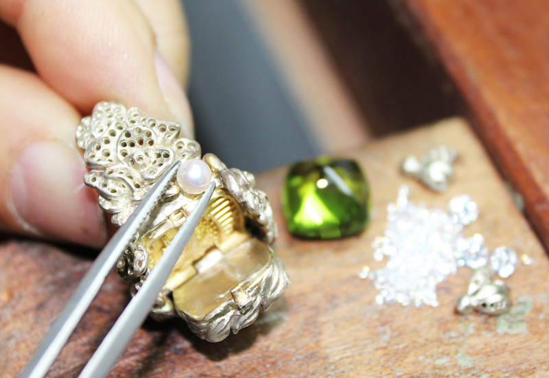 Castles in the Air – When a jeweller gets her architect friend in on theaction.